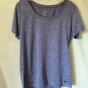 Like New Nike purple grey dri fit top
